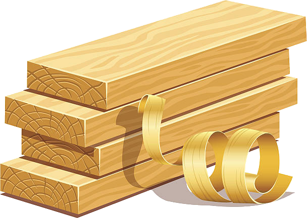 монтаж древесины