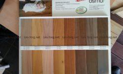 Вся продукция компании Лес-Торг покрывается качественными маслами Osmo.